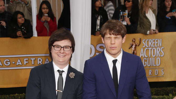 Clark Duke arrives at the 19th Annual Screen Actors Guild Awards at the Shrine Auditorium in Los Angeles on Sunday Jan. 27, 2013. (Photo by Todd Williamson/Invision for The Hollywood Reporter/AP Images)