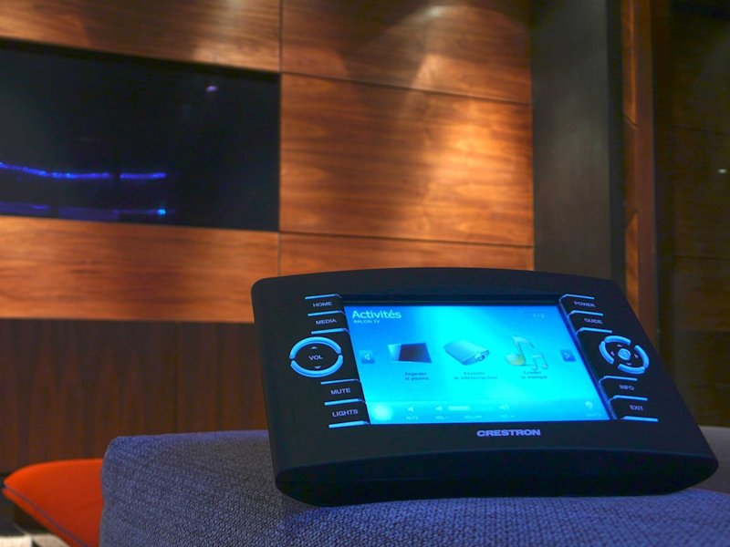 Crestron security system