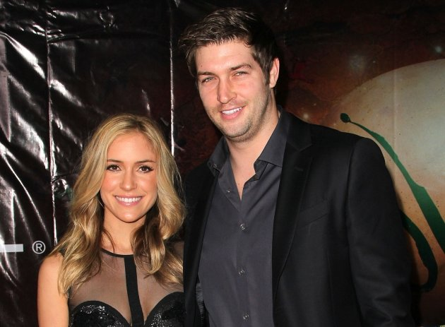 Kristin Cavallari and NFL Jay Cutler attend the Opening Night Of Cirque du Soleil&#39;s &#39;OVO&#39; at the Santa Monica Pier in Santa Monica, Calif., on January 20, 2012