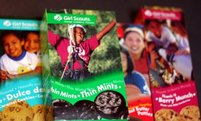 Thin Mints have more cookies per box than any other kind of Girl Scout cookie.