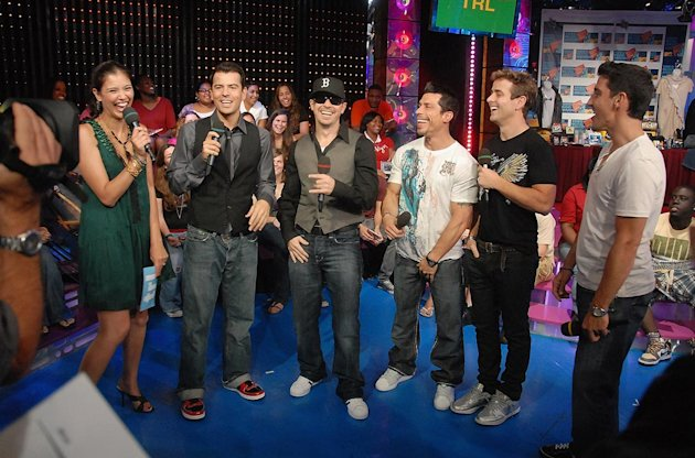 New Kids On The Block TRL