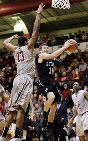 No. 14 Butler tops Saint Joe's 72-66 in A10 debut