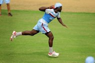 "West Indies captain Darren Sammy during a training session at the Sher-e-Bangla National Cricket Stadium in Dhaka on November 11. He wants his players to ""stay hungry"" and to build on recent successes when they meet Bangladesh Tuesday in the first of two Tests"