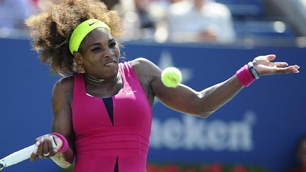 Serena Williams bei den US Open 2012
