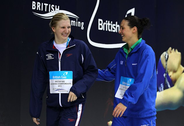 British Gas Swimming Championships - LOCOG Test Event for London 2012: Day Seven