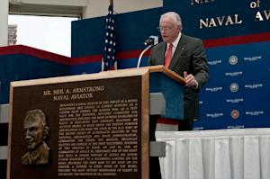 Neil Armstrong, Who Stood on Moon's 'Sea of Tranquility,' to be Buried at Sea
