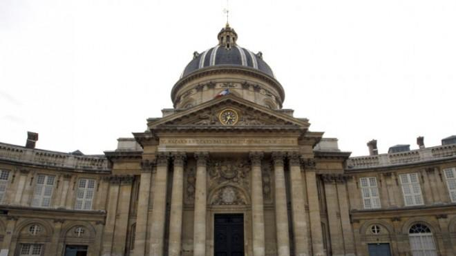 """The Institute de France, home to the Academie Francaise, which has problems with the word """"hashtag."""""""
