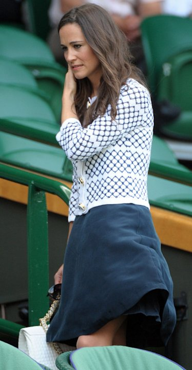 Pippa Middleton at the Wimbledon Tennis Championships, London, UK