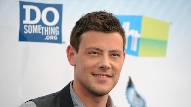 "FILE - This Aug. 19, 2012 file photo shows actor Cory Monteith at the 2012 Do Something awards in Santa Monica, Calif. Monteith, who shot to fame in the hit TV series ""Glee"" but was beset by addiction struggles so fierce that he once said he was lucky to be alive, was found dead in a Vancouver hotel room, police said. He was 31. (Photo by Jordan Strauss/Invision/AP, File)"