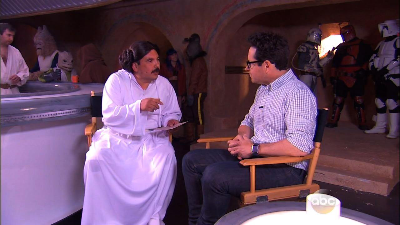 'Star Wars' Director J.J. Abrams Gives Guillermo Exclusive Interview