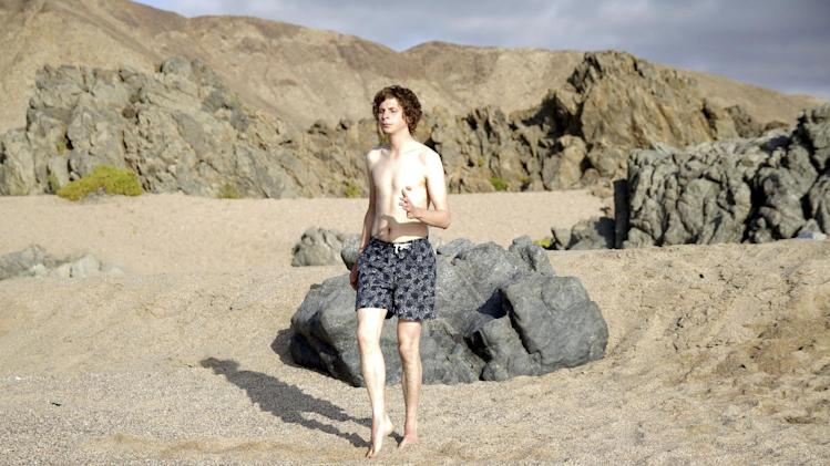 "This undated publicity photo released by the Sundance Institute shows Michael Cera in a scene from the film, ""Crystal Fairy,"" included in the World Cinema Dramatic Competition at the 2013 Sundance Film Festival. (AP Photo/Sundance Institute, Sofa Subercaseaux)"