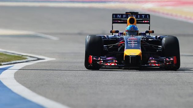 2014 Tests Sakhir Red Bull Vettel