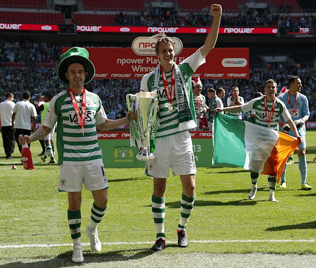 Soccer - npower Football League One - Play Off - Final - Brentford v Yeovil Town - Wembley Stadium