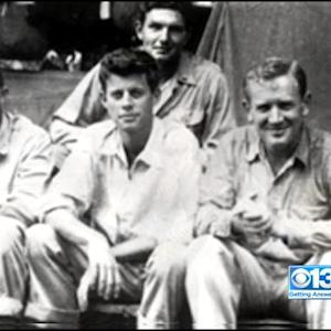 Sacramento Man Recalls JFK's Bravery In South Pacific WWII Rescue