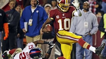 Giants 16 - Redskins 17 - La course se resserre