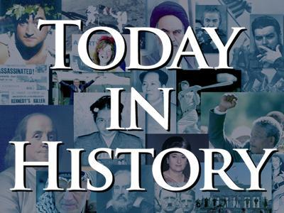Today in History for Saturday, February 9th