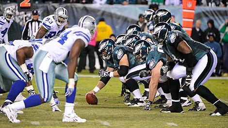 Philadelphia Eagles and Dallas Cowboys