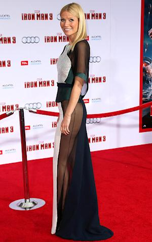 """Gwyneth Paltrow Feels """"Humiliated"""" After Ditching Underwear at Iron Man 3 Premiere"""