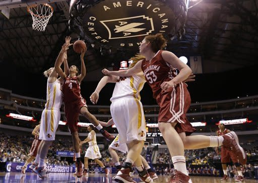 Prins' 32 help Iowa St. women beat Oklahoma 79-60