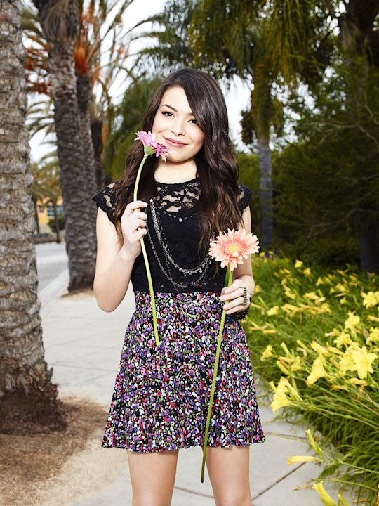 "Miranda Cosgrove stars as Carly in ""iCarly."""