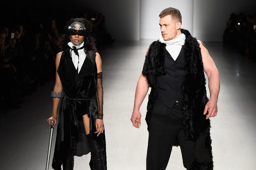 Designer to the stars dresses disabled catwalk in Milan