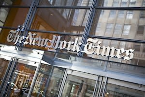NY Times Disbands Environmental Desk