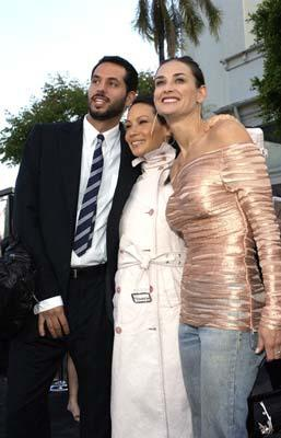 Premiere: Guy Oseary, Lucy Liu and Demi Moore shine with the radiance of celebrity at the Hollywood premiere of Warner Brothers' The Matrix: Reloaded - 5/7/2003