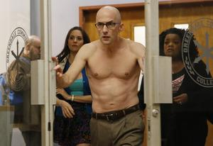 Alison Brie as Annie, Jim Rash, Yvette Nicole Brown | Photo Credits: Vivian Zink/NBC