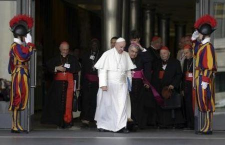 Church should shun derogatory words on gays, Vatican synod told