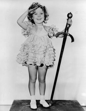 FILE - In this 1933 file photo, child actress Shirley …