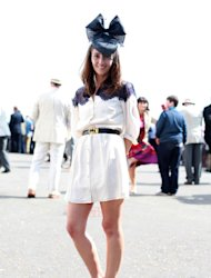 Style Hunter swapped the city streets for a little royal shoulder rubbing at this past weekend's Epsom Derby