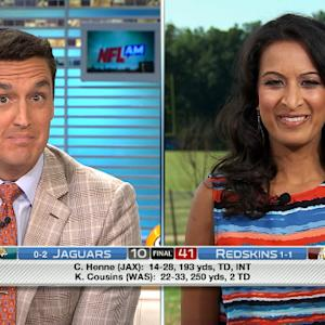 NFL Media's Aditi Kinkhabwala: No QB controversy in Washington