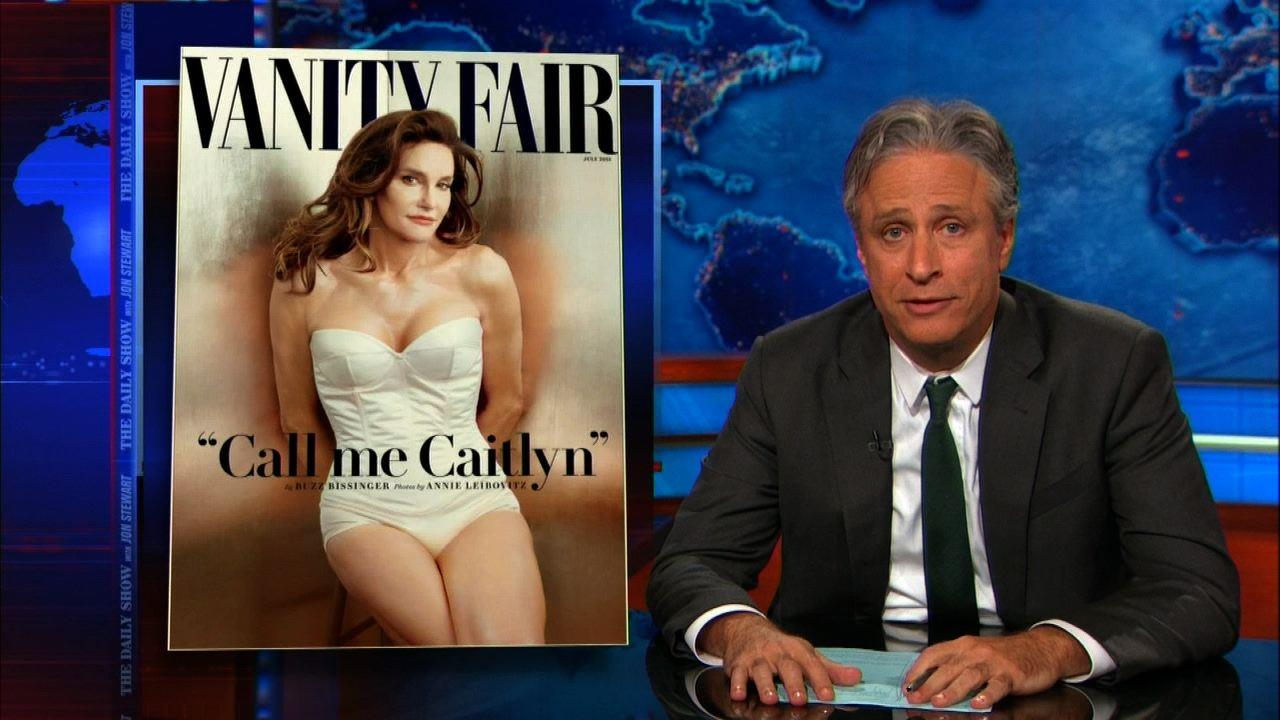Jon Stewart to Caitlyn Jenner: 'Welcome to being a woman in America'