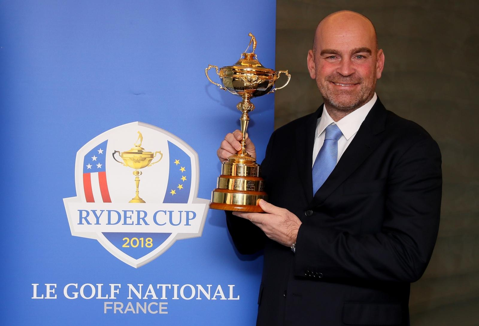Europe to include four wild-cards in Ryder Cup 2018 team