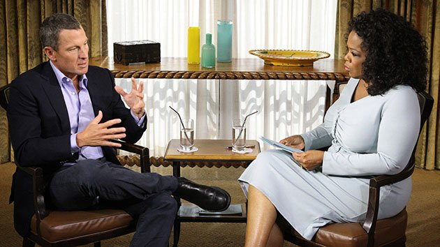 """Oprah's Next Chapter"" -- Oprah talks to Lance Armstrong."