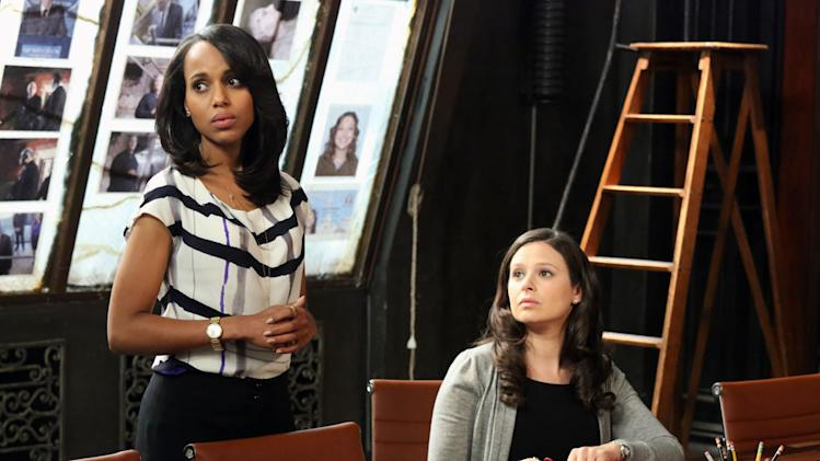 """""""Scandal"""" -- """"Molly, You in Danger, Girl"""" KERRY WASHINGTON, KATIE LOWES"""
