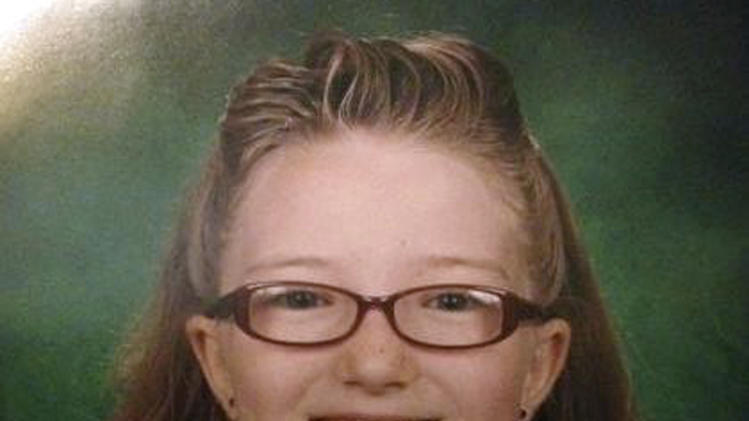 This image provided by the Westminster Colorado Police Department shows Jessica Ridgeway. Authorities looking for the 10-year-old Colorado girl who disappeared days ago after leaving for school are planning to finish scouring open fields and resume searching the fifth-grader's suburban Denver neighborhood on Tuesday, Oct. 9, 2012. (AP Photo/Westminster Colorado Police Department)