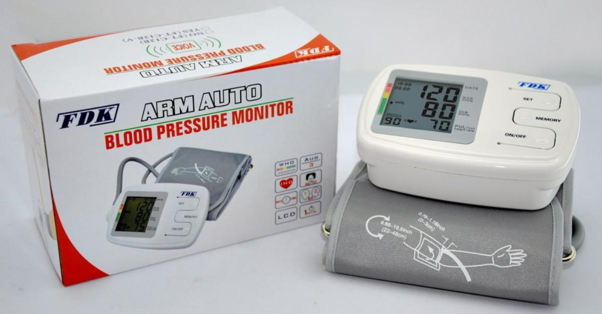 Arm Cuff Blood Pressure Monitor _ By FDK