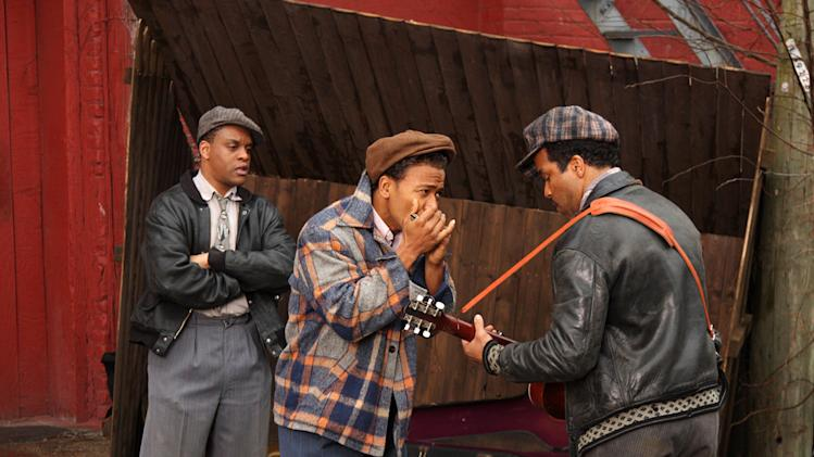 Jimmy Rogers Columbus Short Jeffrey Wright Cadillac Records Production Stills Tristar 2008