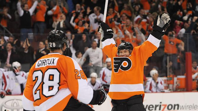 NHL: Washington Capitals at Philadelphia Flyers