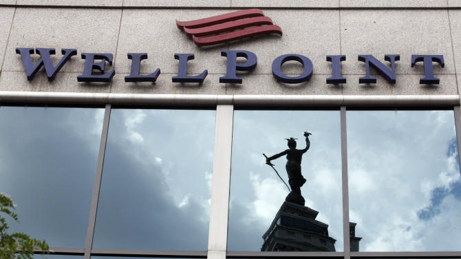 WellPoint 3Q profit up, stock down after election