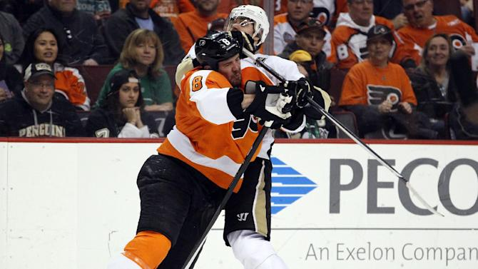 Flyers shut out Penguins 4-0