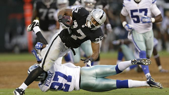 Raiders beat Cowboys 19-17 in exhibition game