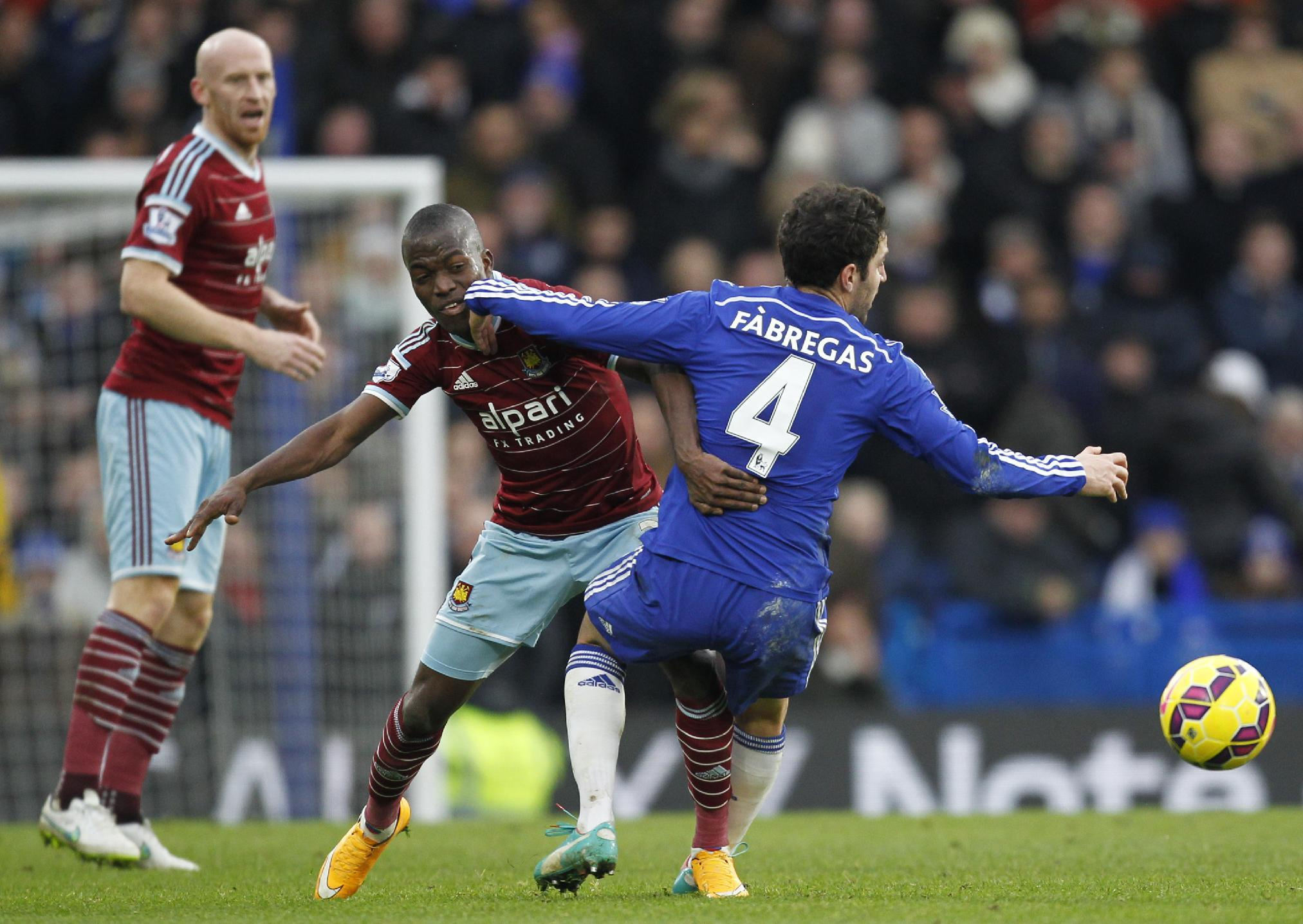 Slick Chelsea give West Ham Christmas blues