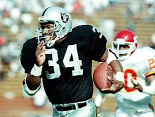 Bo Jackson Los Angeles Raiders
