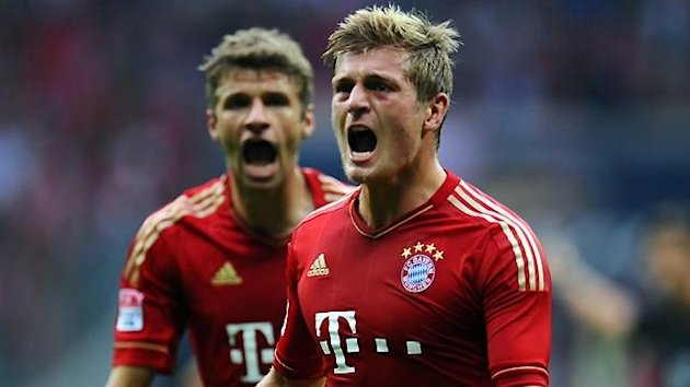 Kroos und Mller trafen beim 6:1 im Hinspiel