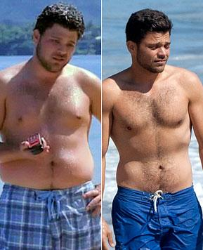 Shirtless Jerry Ferrara Shows Off 55-Pound Weight Loss
