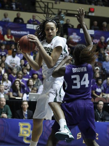 Griner's 45 points sends Baylor past K-State 86-65
