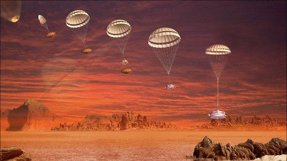 Saturn's Moon Titan Has Soft and Crusty Surface, Probe Landing Reveals