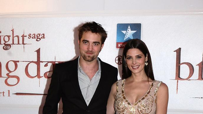 The Twilight Saga Breaking Dawn Part 1 Press Events 2011 Robert Pattinson Ashley Greene